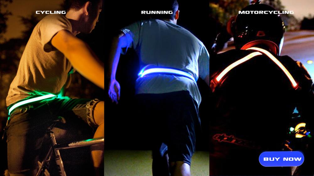 HALO Belt, LED Safety Belt