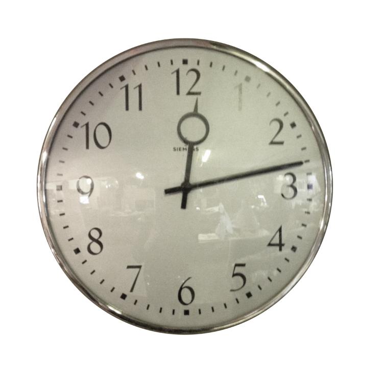 Reloj Siemens. 50's.