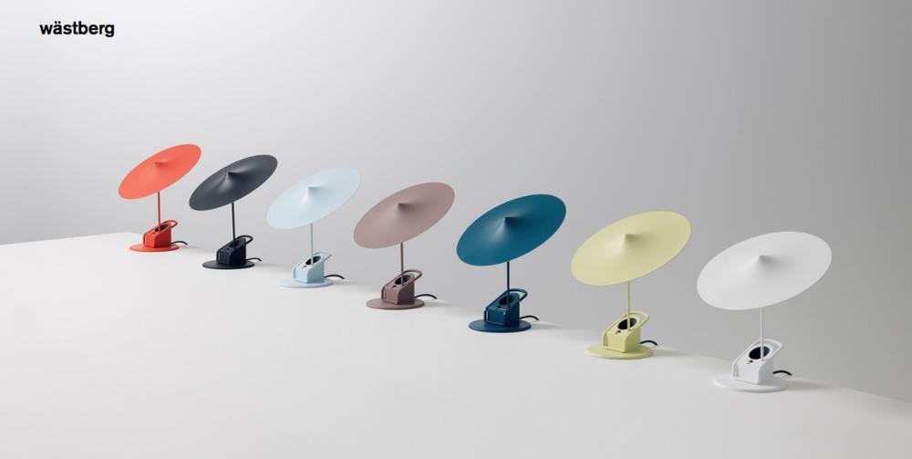 Lámpara Wästberg modelo   w153 île   colores disponibles: sky blue, light Yellow, Grey Brown y Petrol