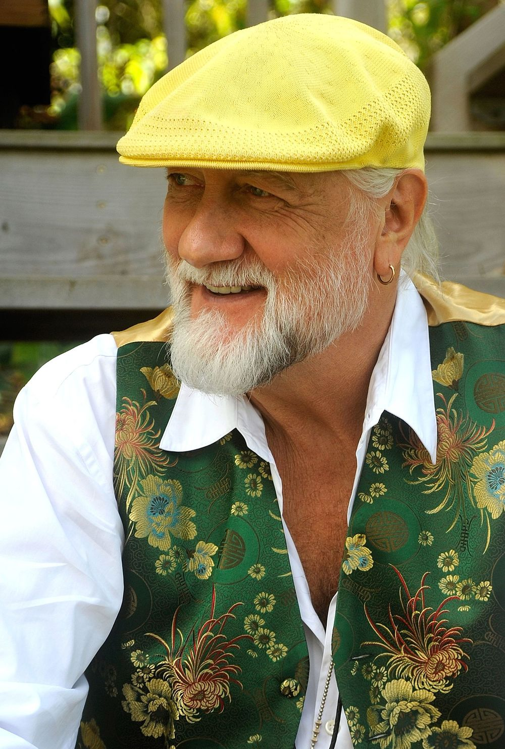 mick fleetwood running man