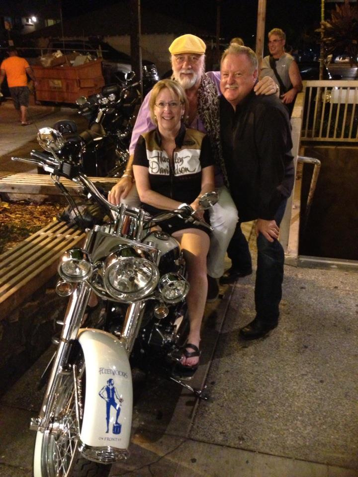 Harley #3 owners Doug and Colleen, used their bike to benefit their California charity; The American Board for Child Diabetics.