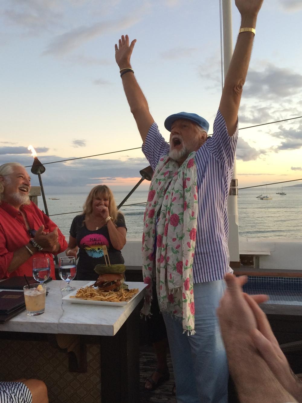 Mick Fleetwood & Hog Burger