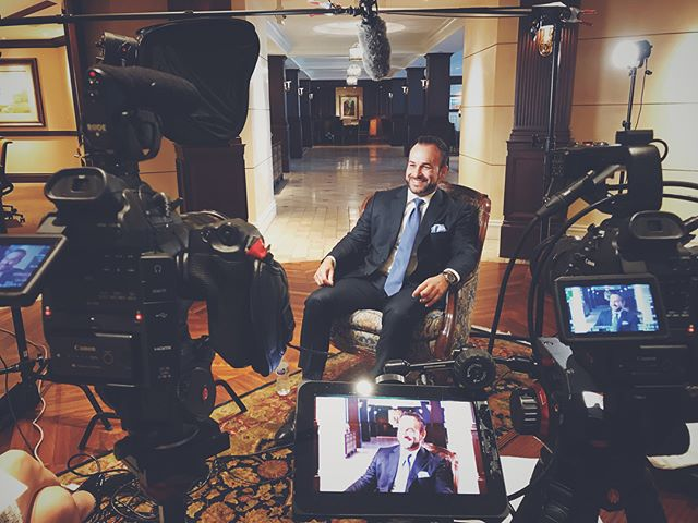 Fun corporate shoot yesterday with the nice folks at Johnson Bank #setlife #video #videographer @canonusa @manfrottoimaginemore @fiilexled @smallhd #c100 @pelicanprofessional #arizona #film @rodemic @sennheiser