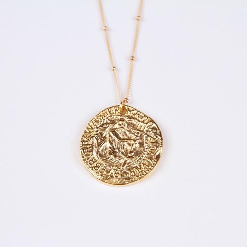Poseidon coin necklace tor jewelry poseidon coin necklace aloadofball Choice Image
