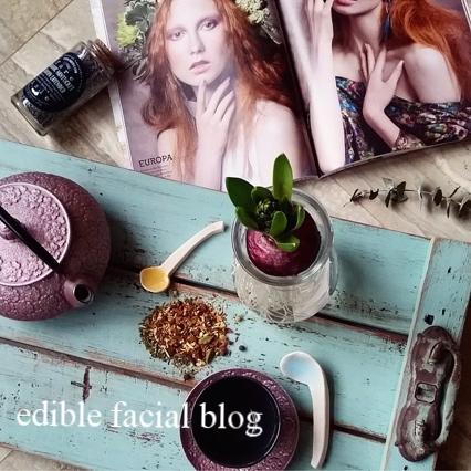 edible facial blog