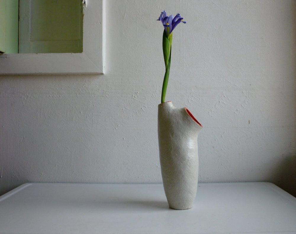 hafifa crimson vase