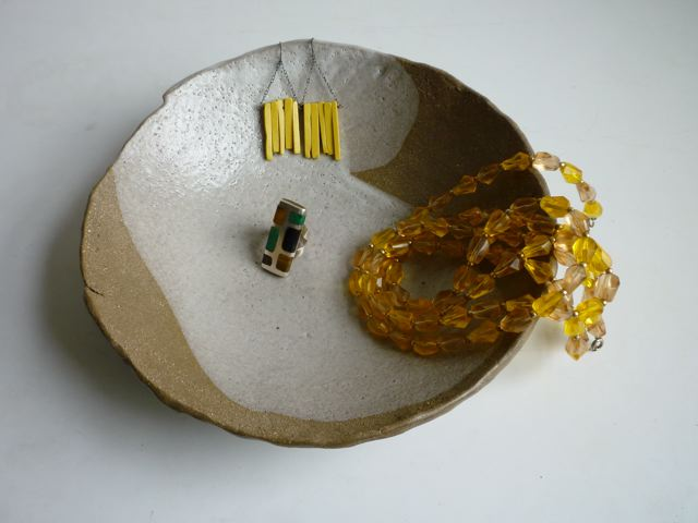jewelry bowl + display