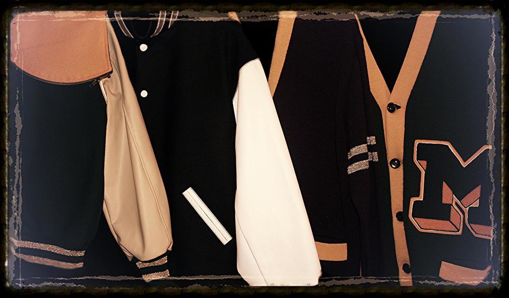 Letterman jackets & letterman sweaters