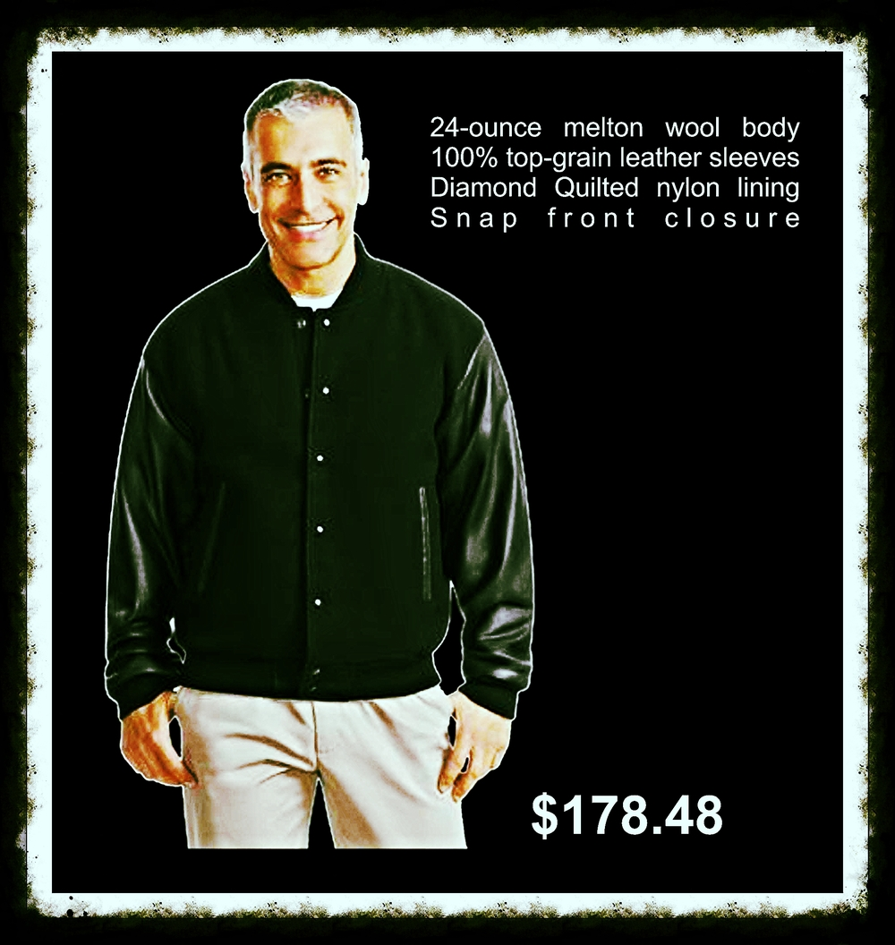 We offer all black jackets only, at a $100 discount.  http://www.companycasuals.com/californiacustomlogos/b.jsp?id=129792