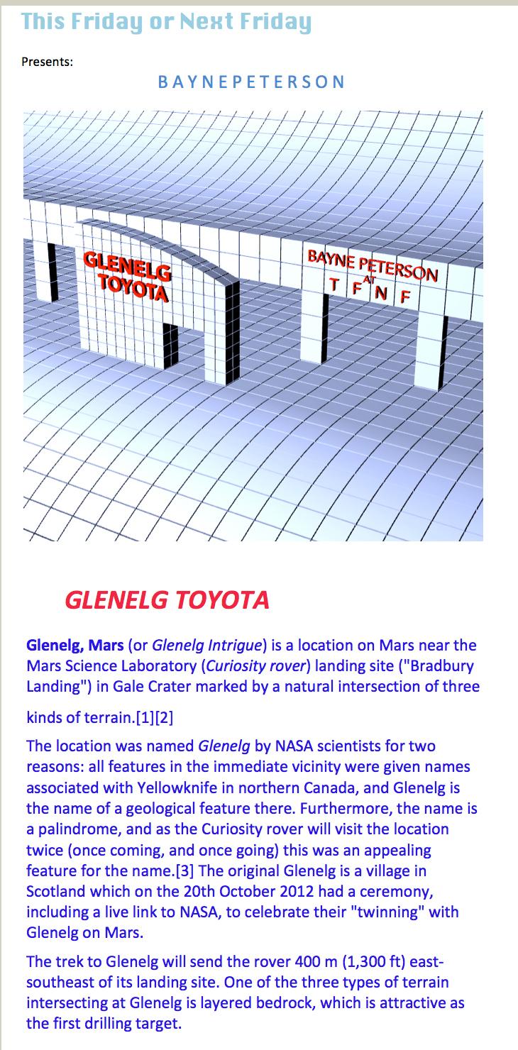 GLENELG TOYOTA