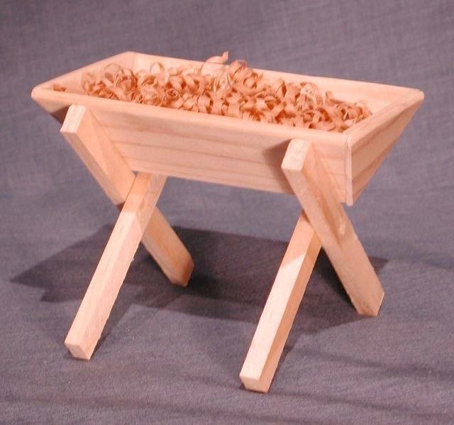 O4: Wooden Manger: $19 NZD