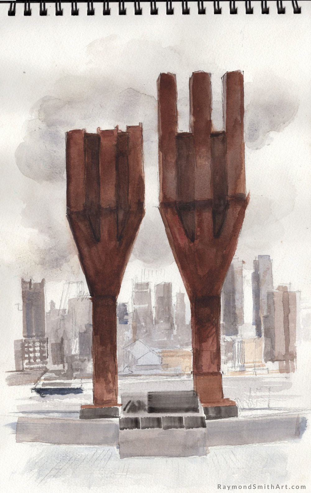 Weehawken 9/11 Memorial