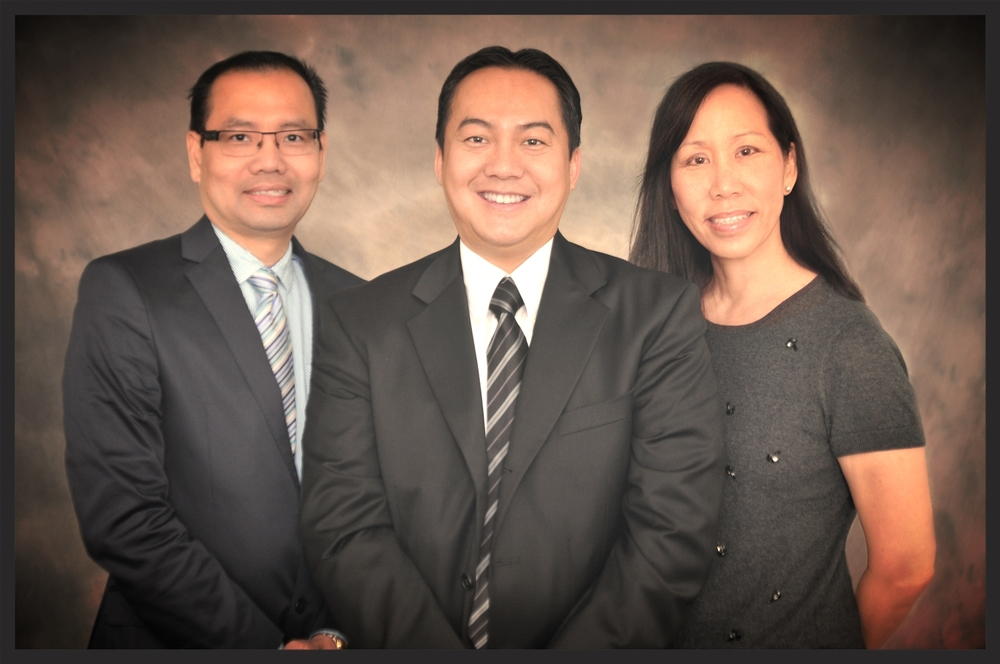 OUR PROVIDERS:  (from left to right)    PETER LE, PA-C, ROGER TRAN, MD, PRISCILLA CHOW, NP