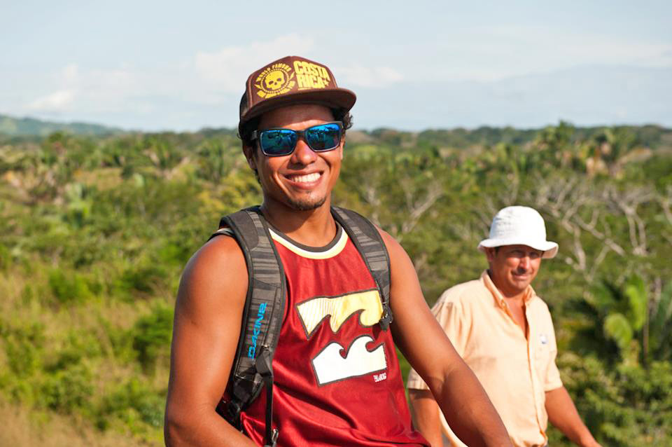Meet Mincho, born and raised in Mal Pais, Costa Rica. A great person, excellent surfer and a very knowledgeable private guide.