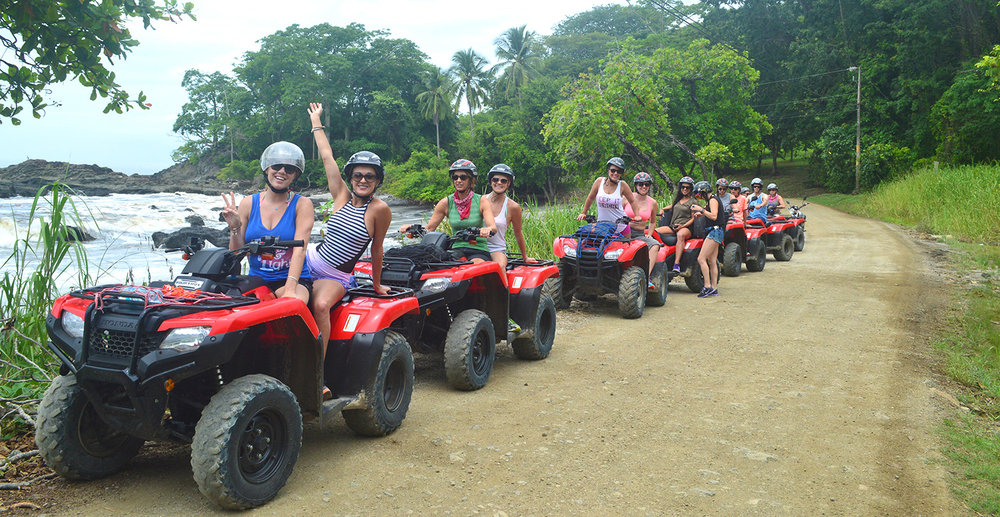 Feel the juice of an all terrain 4x4 brand new Honda ATV, as you explore the back roads of the Nicoya Peninsula. A 4-5 hour fun adrenalin packed experience!