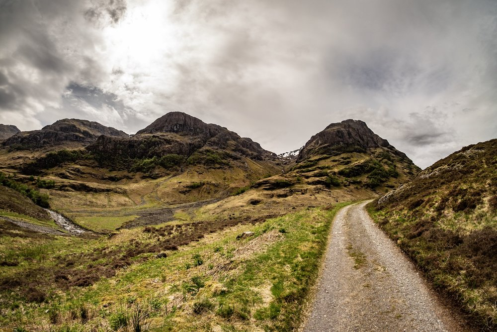 A path in the Highlands