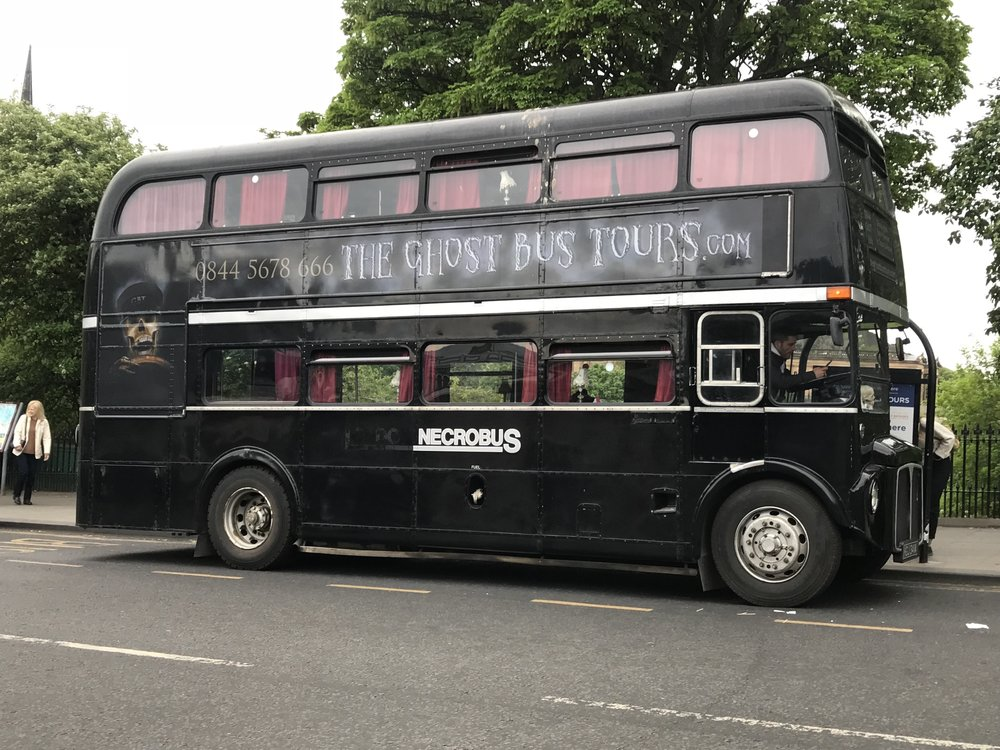 Who you gonna call? Ghost Bus Tour!