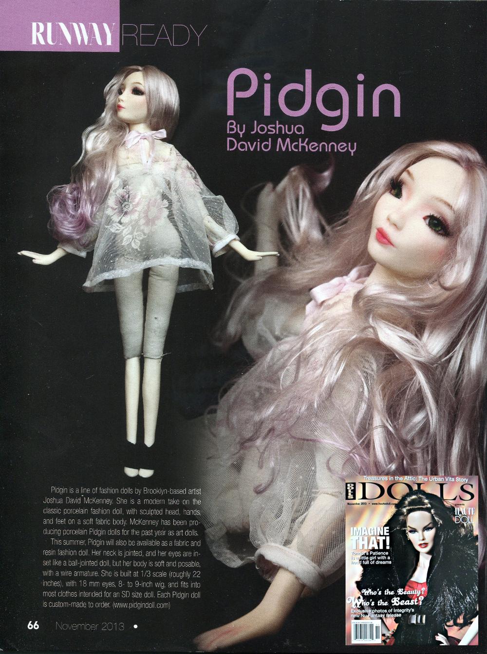 Dolls Magazine: Nov 2013