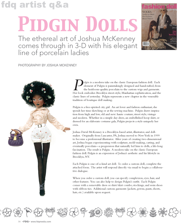 Fashion Doll Quarterly: May 2013