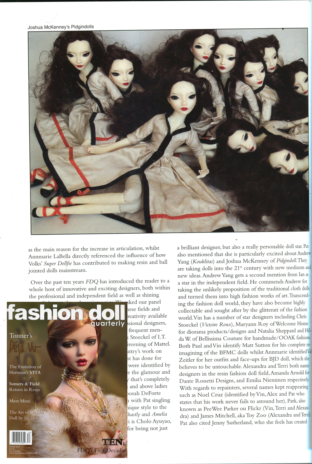 Fashion Doll Quarterly: Winter 2013