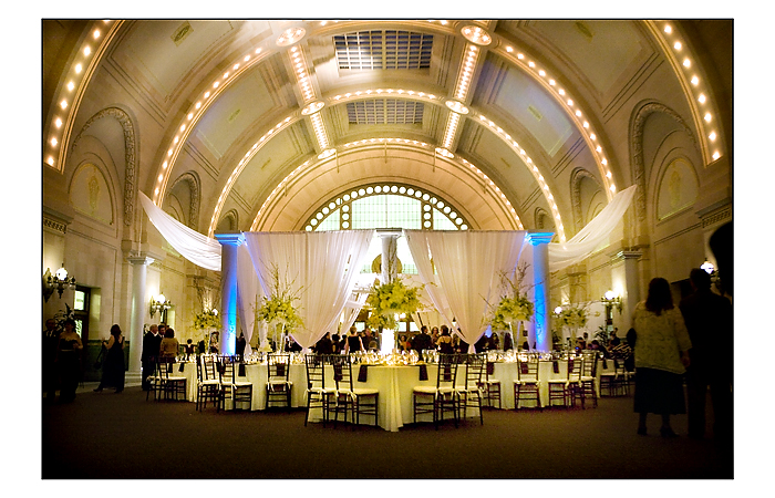 Large Reception Venue in Downtown Seattle | April Greer Photography