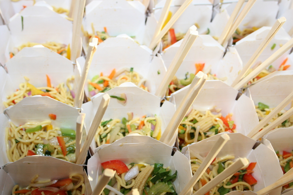 Custom menus for on-site and off-site catering