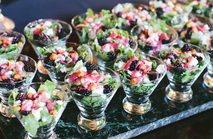 Gluten free and allergen free menu options | Crimson and Clover photography