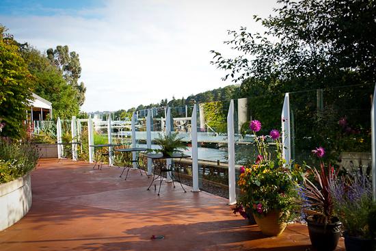 Patio Venue Overlooking the Ballard Locks