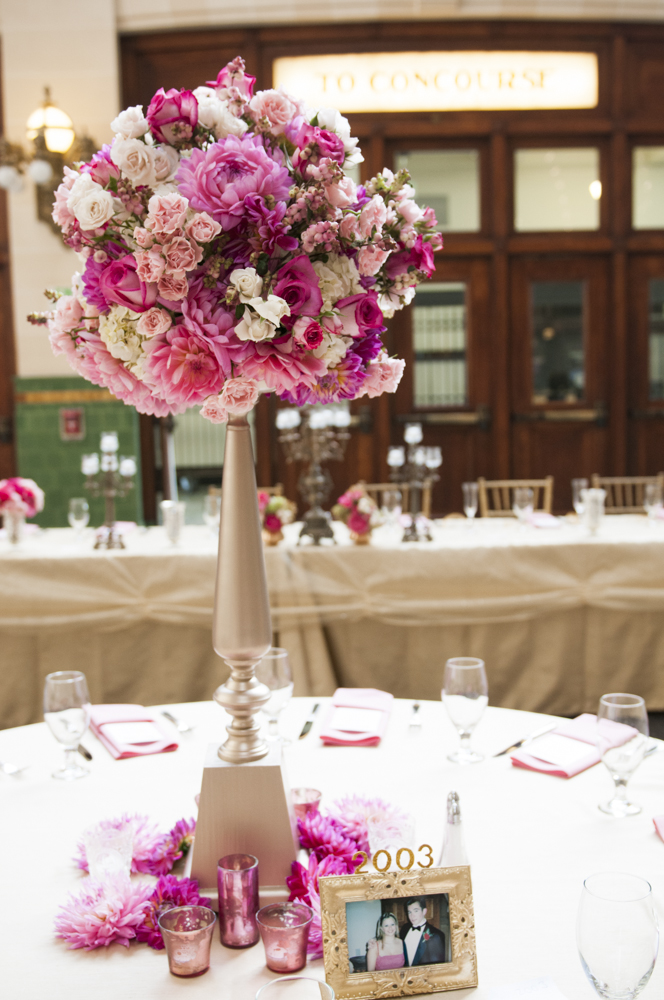 Any color or theme can be blended perfectly into the elegant simplicity of the Great Hall.