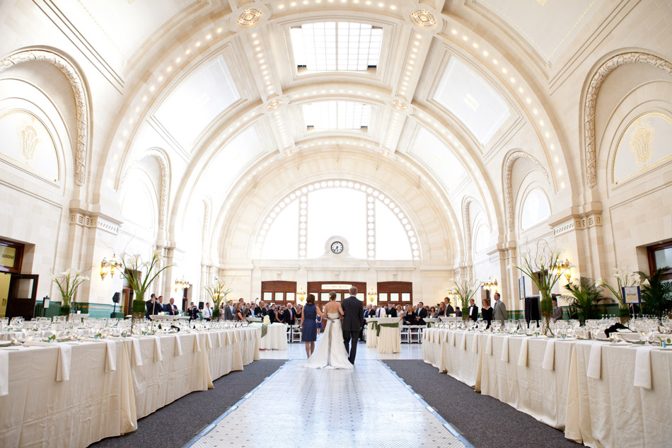Beautiful Wedding Ceremony and Reception at the Great Hall at Union Station