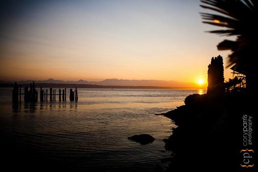 Sunset at the Ballard Bay Club