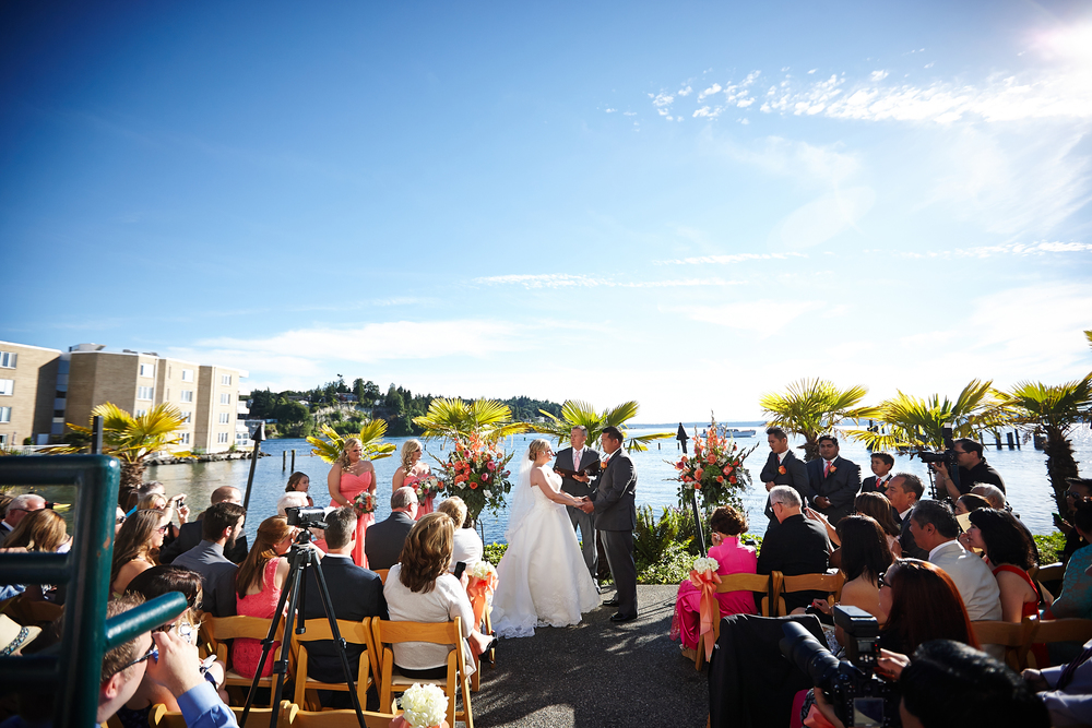 Outdoor Ceremony Space in Seattle | Alex Studio Photography