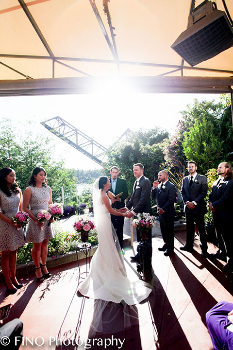 sunny summer real wedding