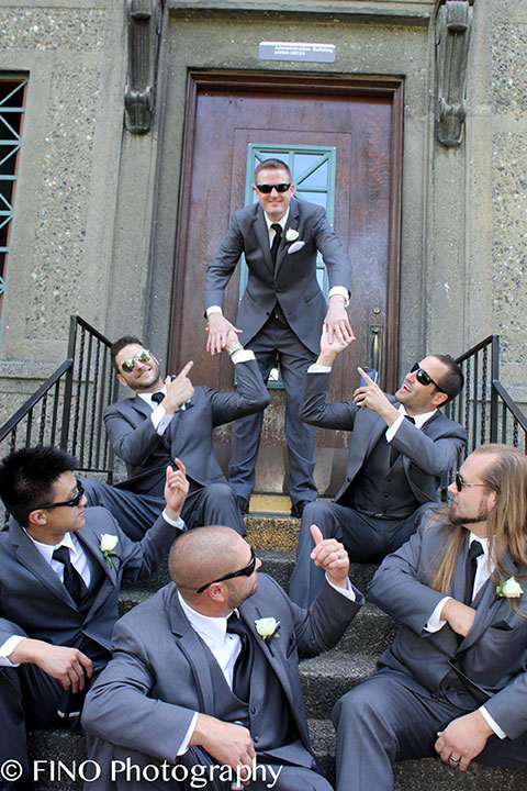 groomsmen seattle wedding