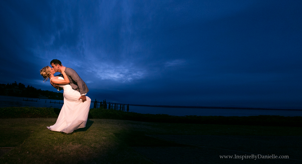 Waterfront Kiss | Danielle Barnum Photography