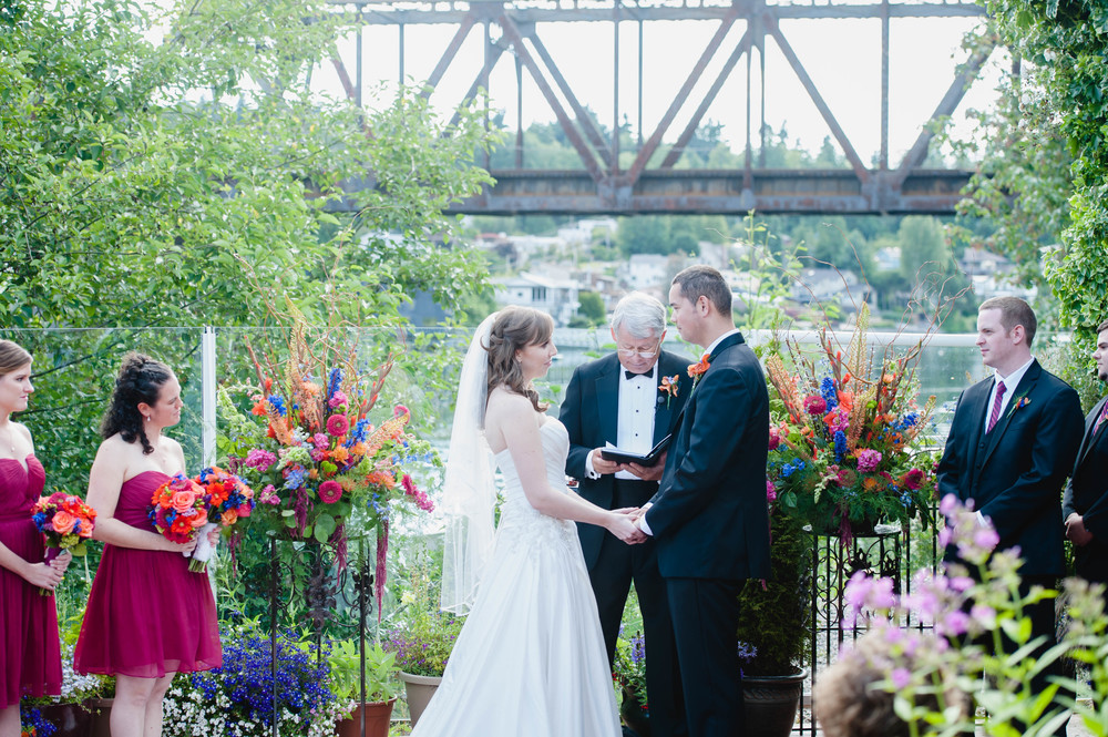 Outdoor Canal Wedding