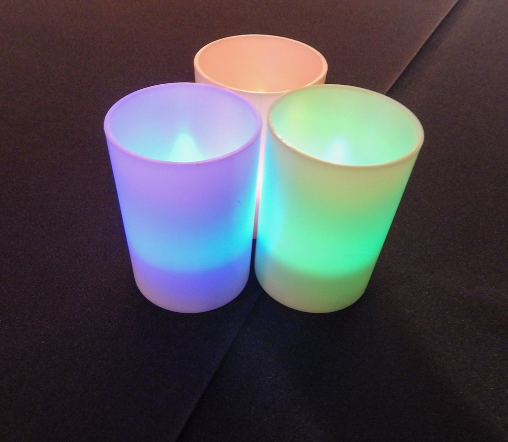 Microsoft-Themed Tea Candles