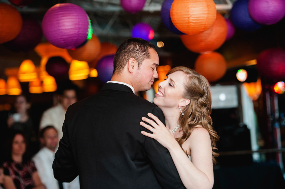Wedding Reception at the Canal | Natalie Hilliard Photography
