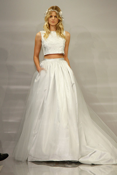 Wedding dress designed by Theia