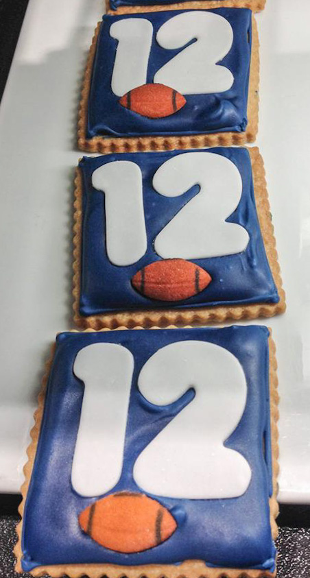 12th Man Shortbread Cookies
