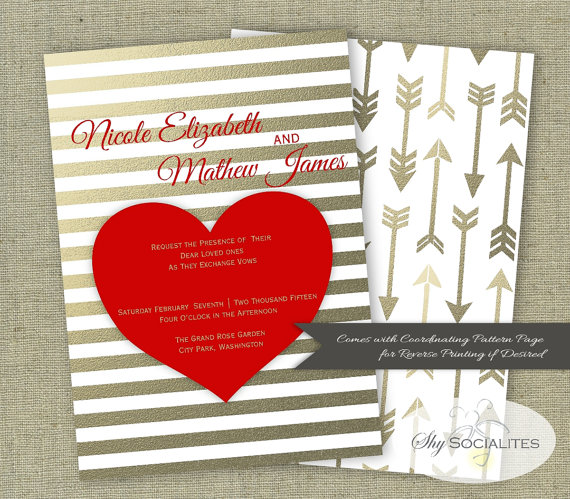 Invitation: Shy Socialites via Etsy