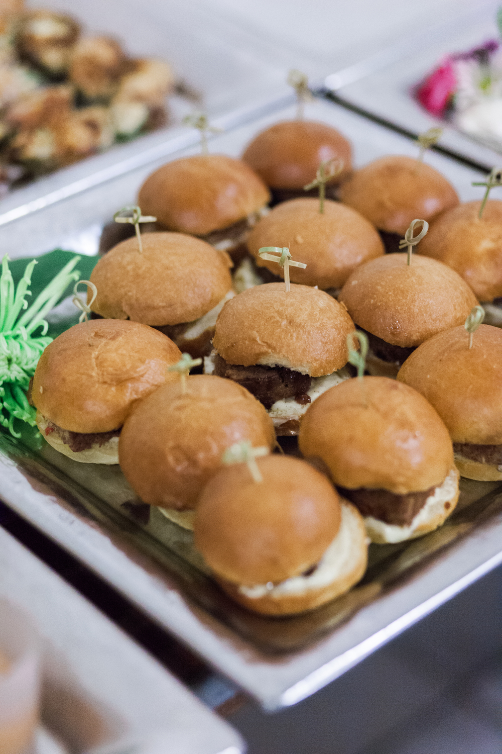 Mini Meatloaf Sandwiches | Kristi Lloyd Photography