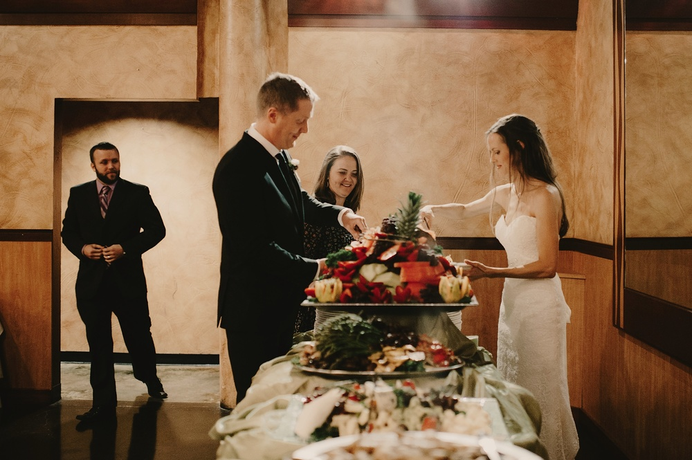 Jewel buffet | Kristen Marie Photography