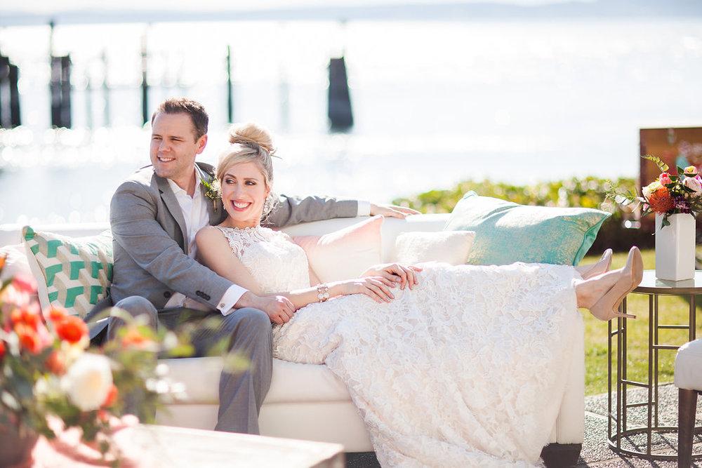 Ballard Bay Club Styled Wedding Shoot