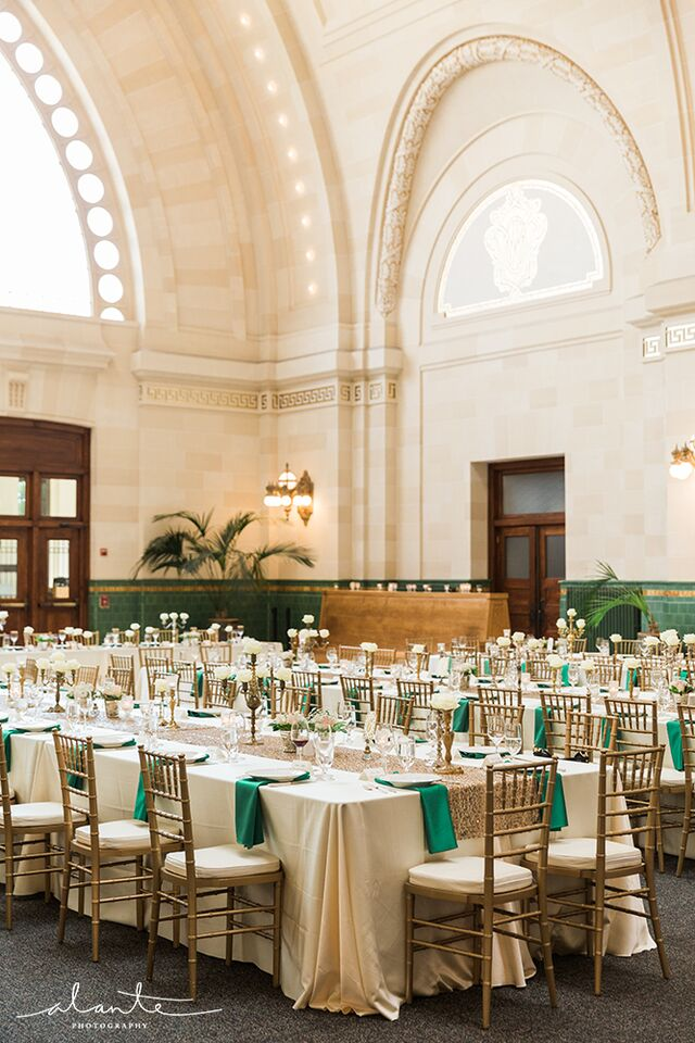 The Great Hall at Union Station Vintage Wedding