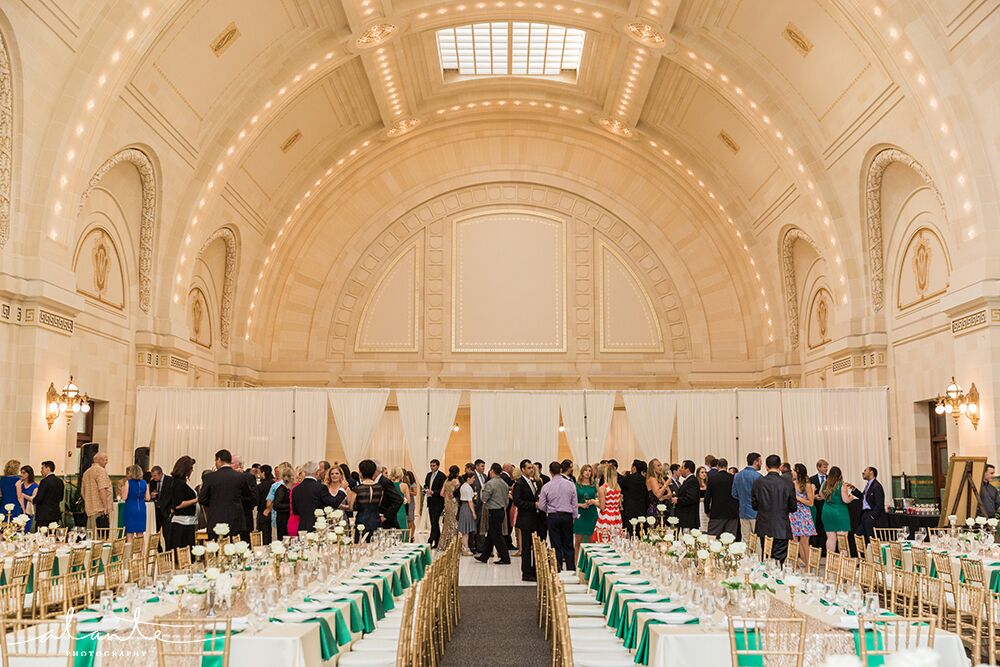 Great Hall at Union Station Reception Set Up