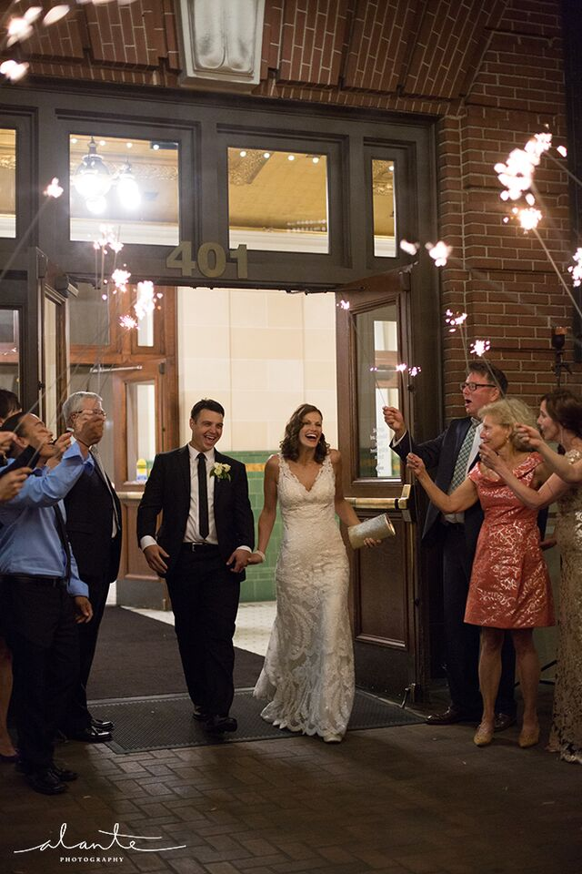 Great Hall Sparkler SendOff