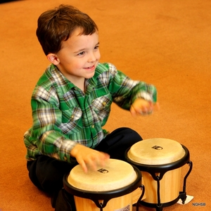 foundations classes expose young children to many different instruments.