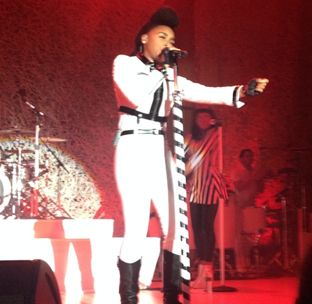 The brilliant Janelle Monae performed at Couture 2014!