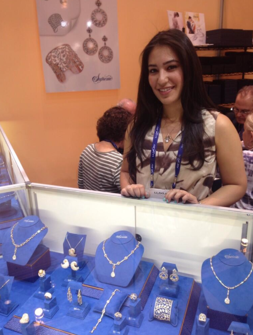 We had so much fun at JCK Las Vegas seeing all of our clients. Pictured above: Taleen from Supreme Jewelry